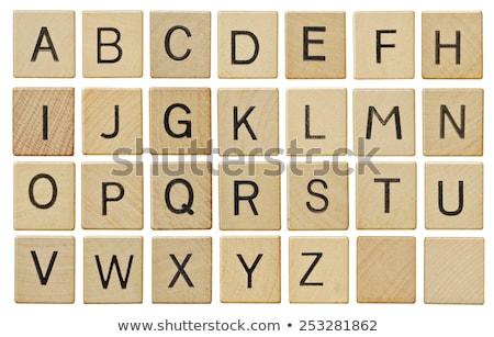 puzzle letters of the alphabet c Stock photo © Olena