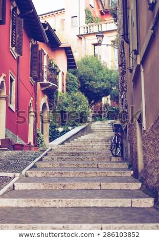 Old streets in Verona Stock photo © backyardproductions