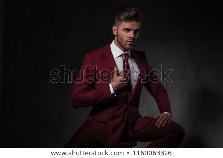 Gentleman pak kant Stockfoto © feedough