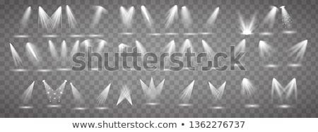 Set bianco trasparente vettore luce raggi Foto d'archivio © ExpressVectors