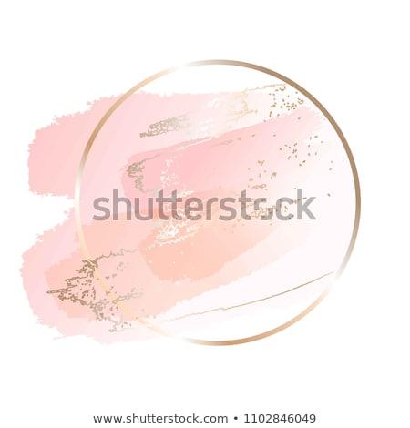 rosa · vettore · acquerello · elemento · bella · acqua - foto d'archivio © freesoulproduction