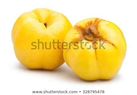 зрелый желтый королева яблоко плодов Сток-фото © homydesign
