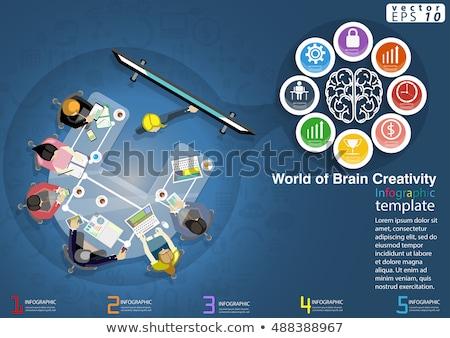 warsztaty · szkolenia · kierownik · umiejętności · burza · mózgów - zdjęcia stock © RAStudio