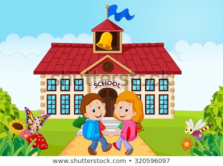 Nursery school girl_complex Stock photo © toyotoyo