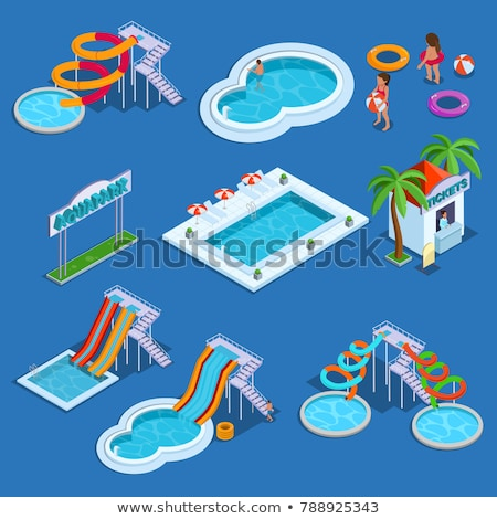 Water amusement park Stock photo © netkov1