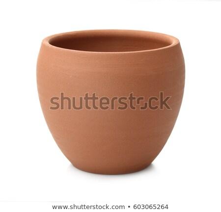 Ceramiki sprzęt kuchenny Wazon glina kręgle doniczka Zdjęcia stock © robuart