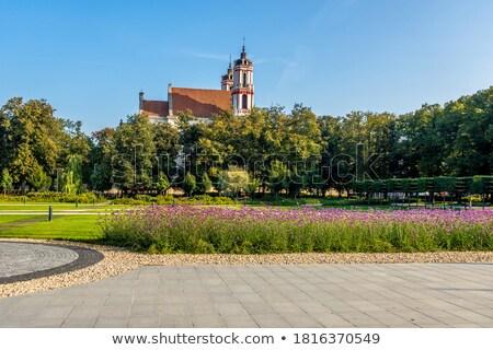 教会 ヴィルニアス リトアニア カトリック教徒 建物 旅行 ストックフォト © borisb17