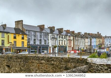 Street in Cahir town, Ireland Stock photo © borisb17