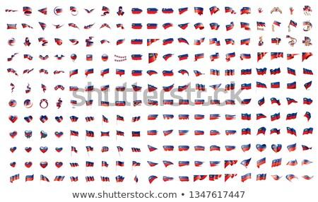 very big collection of vector flags of the liechtenstein Stock photo © butenkow