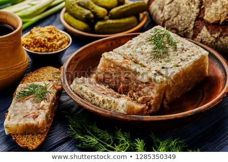 Meat aspic Stock photo © RuslanOmega