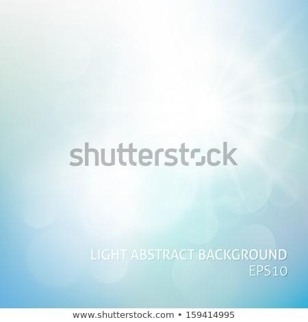 the hot summer sun   abstract vector background stock photo © orson