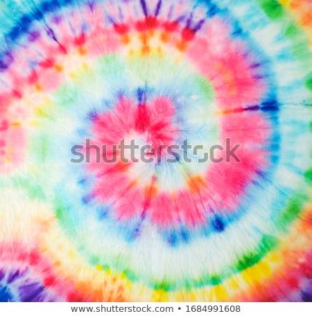 Geïsoleerd witte textuur zakenman Blauw weefsel Stockfoto © leeser
