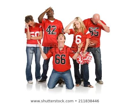 Angry Sports Fanatic Stock photo © lisafx