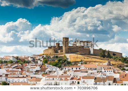 Portekiz · Bina · seyahat · kale · mimari · tarih - stok fotoğraf © phbcz
