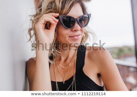 Mooie vrouw haren mode star golf Stockfoto © Elmiko