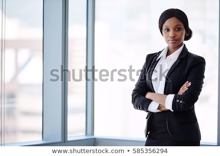 woman black dressed stock photo © imarin