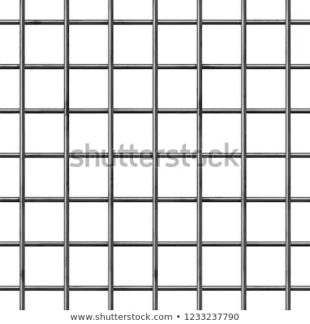 Stock photo: metal net seamless background