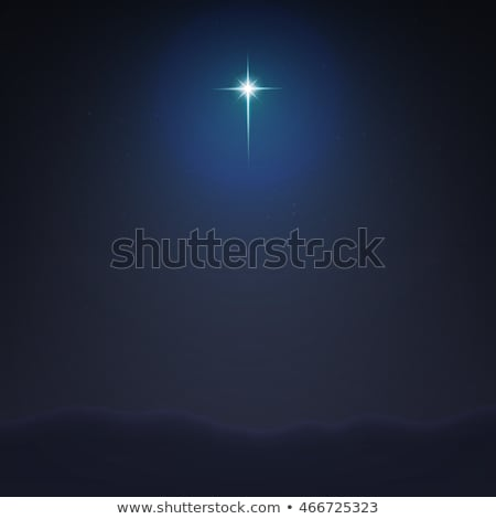 Illustration vector. Star of Bethlehem. Nativity Stock photo © alvaroc