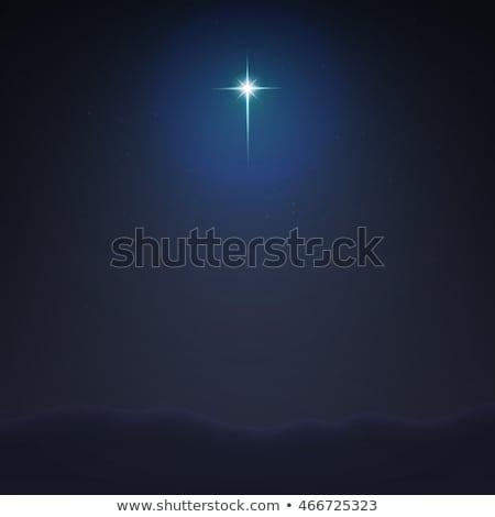 illusztráció · vektor · csillag · három · bölcs · férfiak - stock fotó © alvaroc