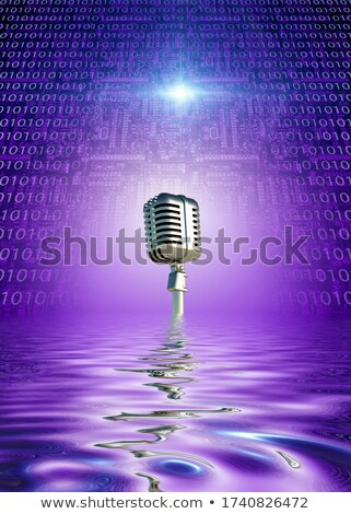Binary Singing Stock photo © blamb
