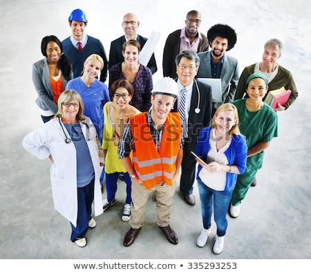 Különböző állások nők munka egészség férfiak Stock fotó © photography33