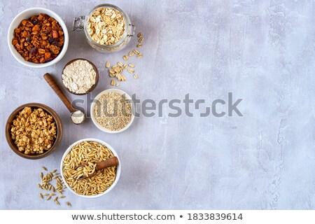 Haver producten dieet- witte gezondheid Stockfoto © oksix