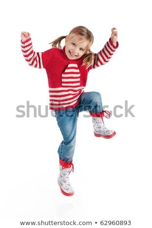 rosso · bianco · strisce · tshirt · baby · moda - foto d'archivio © ruslanomega