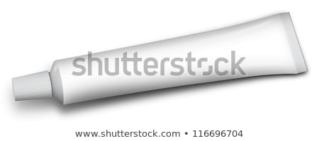 Stock photo: tube of toothpaste and other paste