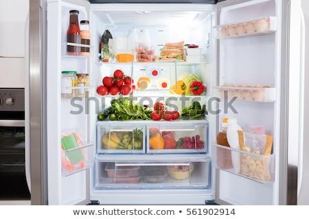 fruit in the fridge stock photo © microolga
