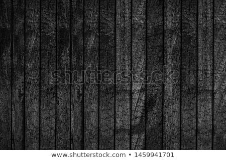 Texture of burned wood planks Stock photo © zeffss