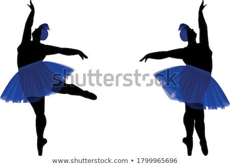 Two attractive belly dancers Stock photo © Aikon