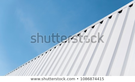 Corrugated Iron Shed Stock photo © iTobi