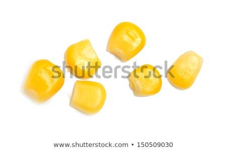 yellow corn kernels Stock photo © nessokv