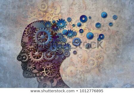 orvosi · ikon · fa · emberi · fej · agy - stock fotó © Lightsource