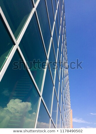 Pylon Abstract & Apartment Buildings Stock photo © eldadcarin