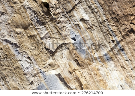 texture of Sedimentary rock Stock photo © chatchai