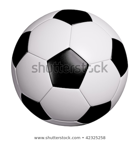 soccer ball with path stock photo © ssuaphoto