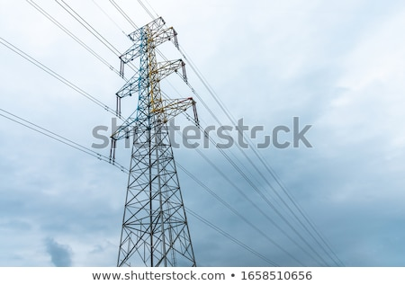 Eletricidade torre poder tiro Foto stock © 805promo