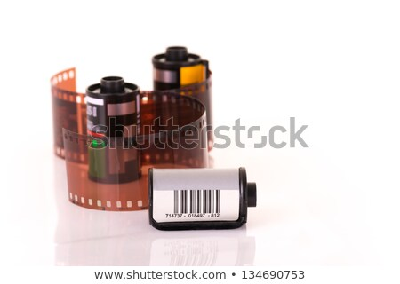 isolated roles of 35 mm negative film Stock photo © pxhidalgo