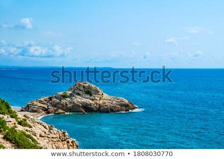 Torn Beach in Hospitalet del Infant, Spain Stock photo © nito