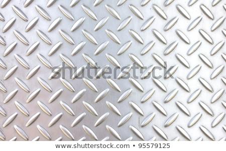 Rozsdás fém gyémánt tányér végtelenített textúra Stock fotó © tashatuvango
