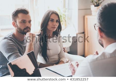 Сток-фото: Doctor And Young Couple