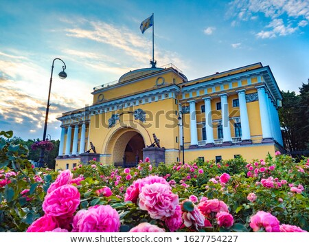Admiralty building in St. Petersburg stock photo © mahout