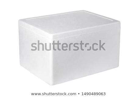 Styrofoam box  Stock photo © dezign56