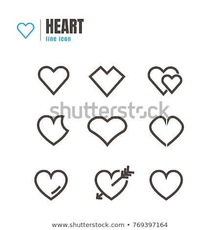 Résumé isolé illustration heureux coeur Photo stock © eltoro69
