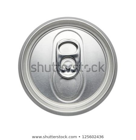 top of an unopened soda can on a white background stock photo © ozaiachin