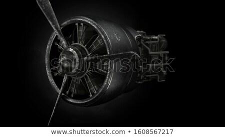 Stock fotó: Háború · repülőgép · klasszikus · öreg · történelmi · kirakat