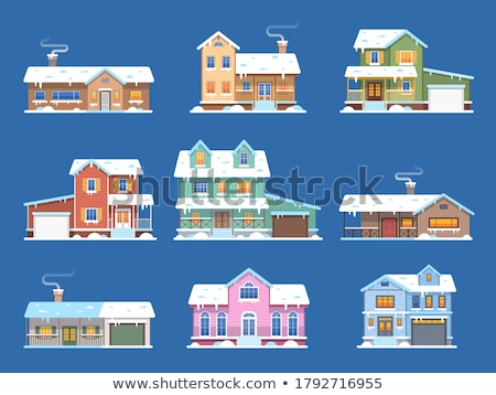 Snowy street Stock photo © franky242