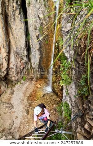 Giovannelli Gorge via ferrata Stock photo © Antonio-S