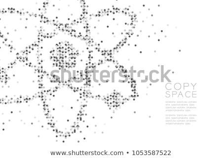 nuclear · energia · abstrato · ilustração · digital · digital · colagem - foto stock © kgtoh